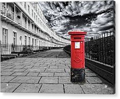The Iconic Royal York Crescent In Clifton , Bristol , Uk Acrylic Print by Alex Hardie