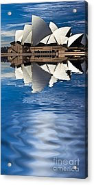 The Iconic Sydney Opera House Acrylic Print by Avalon Fine Art Photography