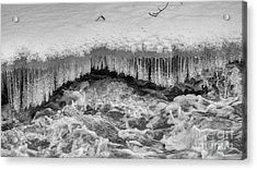 The Icy Stream Acrylic Print by Veikko Suikkanen