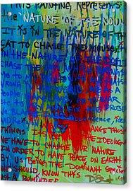 The Idea Acrylic Print