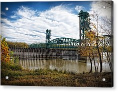 Acrylic Print featuring the photograph The Illinois River by Cindy Lark Hartman