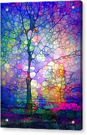 The Imagination Of Trees Acrylic Print