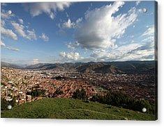 The Inca Capital Of Cusco Acrylic Print by Aidan Moran