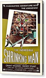 The Incredible Shrinking Man 1957 Acrylic Print by Mountain Dreams