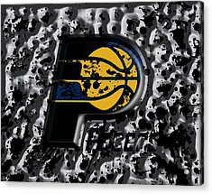 The Indiana Pacers Acrylic Print by Brian Reaves