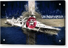 The Indianapolis Acrylic Print by JC Findley