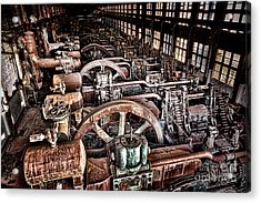 The Industrial Age Acrylic Print by Olivier Le Queinec