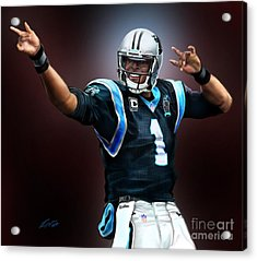 The Inevitable Cam Newton1 Acrylic Print