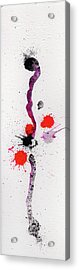 The Inexplicable Ignition Of Time Expanding Into Free Space Phase Two Number 01 Acrylic Print by Mark M  Mellon