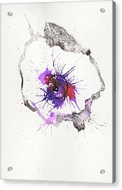 The Inexplicable Ignition Of Time Expanding Into Free Space Phase Two Number 04 Acrylic Print by Mark M  Mellon