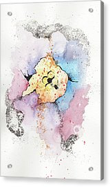 The Inexplicable Ignition Of Time Expanding Into Free Space Phase Two Number 08 Acrylic Print by Mark M  Mellon