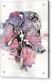 The Inexplicable Ignition Of Time Expanding Into Free Space Phase Two Number 13 Acrylic Print by Mark M  Mellon