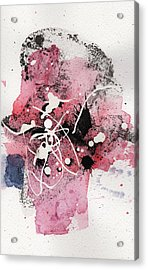 The Inexplicable Ignition Of Time Expanding Into Free Space Phase Two Number 14 Acrylic Print by Mark M  Mellon