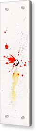 The Inexplicable Ignition Of Time Expanding Into Free Space Phase Two Number 17 Acrylic Print by Mark M  Mellon