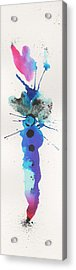 The Inexplicable Ignition Of Time Expanding Into Free Space Phase Two Number 20 Acrylic Print by Mark M  Mellon