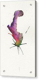 The Inexplicable Ignition Of Time Expanding Into Free Space Phase Two Number 25 Acrylic Print by Mark M  Mellon