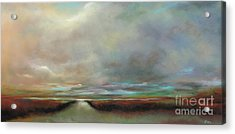 The Inlet Acrylic Print by Frances Marino