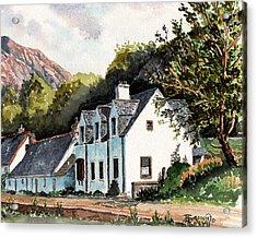 The Inn Scotland Acrylic Print