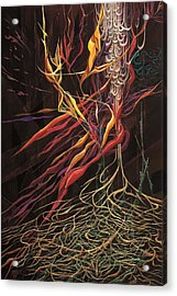 The Intensity Of Dreams Acrylic Print by Charles Cater