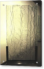 'the Iris River' Acrylic Print by Sarah king
