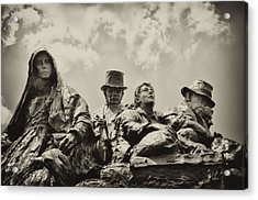 The Irish Emigration Acrylic Print by Bill Cannon