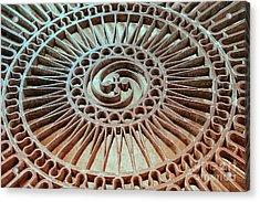 The Iron Lattice Acrylic Print