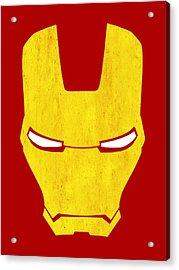 The Iron Man Acrylic Print by Mark Rogan