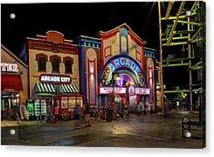 The Island Arcade Acrylic Print