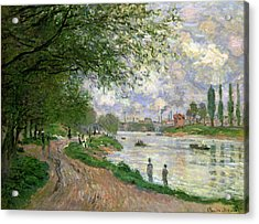 The Island Of La Grande Jatte Acrylic Print by Claude Monet