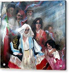 The Italia Family Acrylic Print by Elisabeth Nussy Denzler von Botha