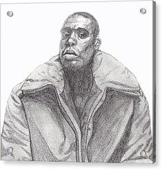 The Jacket Acrylic Print by Jean Haynes
