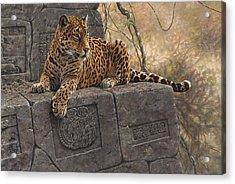 The Jaguar King Acrylic Print