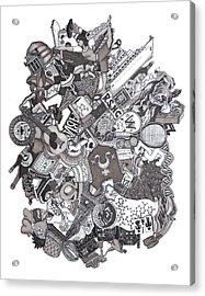 The Januszeski Three Acrylic Print by Tyler Auman