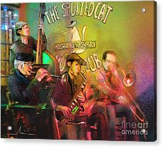 The Jazz Vipers In New Orleans 02 Acrylic Print