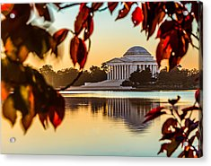 Jefferson In Autumn Acrylic Print