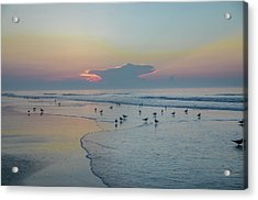 Acrylic Print featuring the photograph The Jersey Shore - Wildwood by Bill Cannon
