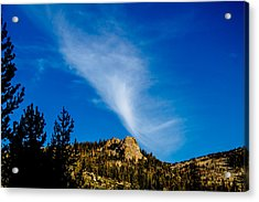 The Jet Strean Up At 10000 Ft Acrylic Print by Brian Williamson