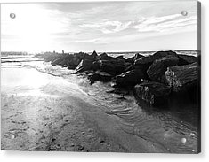 Acrylic Print featuring the photograph The Jetty by Eric Christopher Jackson