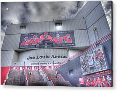 The Joe Acrylic Print by Chris Coleman