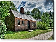 The John Wells House In Wells Maine Acrylic Print