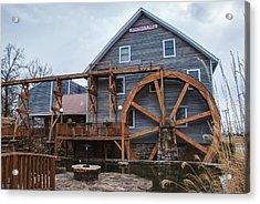 The Johnson Mill - Near Fayetteville Arkansas Acrylic Print by Gregory Ballos