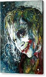 The Joker - Heath Ledger Acrylic Print