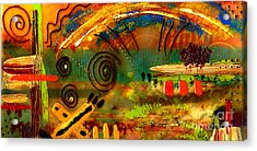 The Journey Back Home Acrylic Print by Angela L Walker