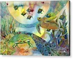 The Journey Begins Acrylic Print by Amy Kirkpatrick