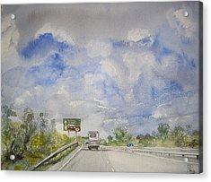 The Journey Acrylic Print by Carole Robins
