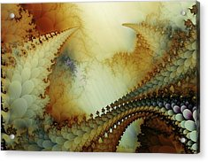 Acrylic Print featuring the digital art The Journey by Kim Redd