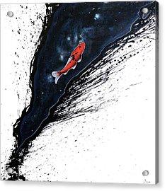 The Journey Acrylic Print by Sandi Baker