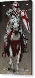 The Joust Acrylic Print