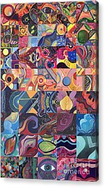 The Joy Of Design First 40 Variation 1 Acrylic Print