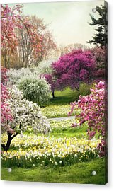 Acrylic Print featuring the photograph The Joy Of Spring by Jessica Jenney